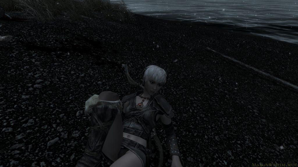 спрыгнула с лодки и увидела кости