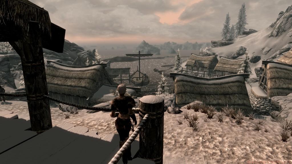 Санни потрясена огромным городом Данстар